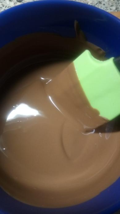 Getempereerde chocolade